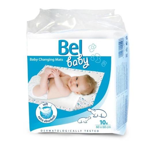 Bel Baby přebalovací podložky, 60 x 60 cm, 10 ks v balení