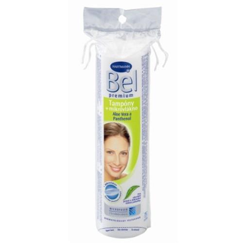 Bel Cosmetic odličovací tampóny kulaté, 75 ks v balení