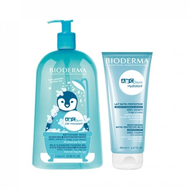 Bioderma ABCDerm Gel moussant