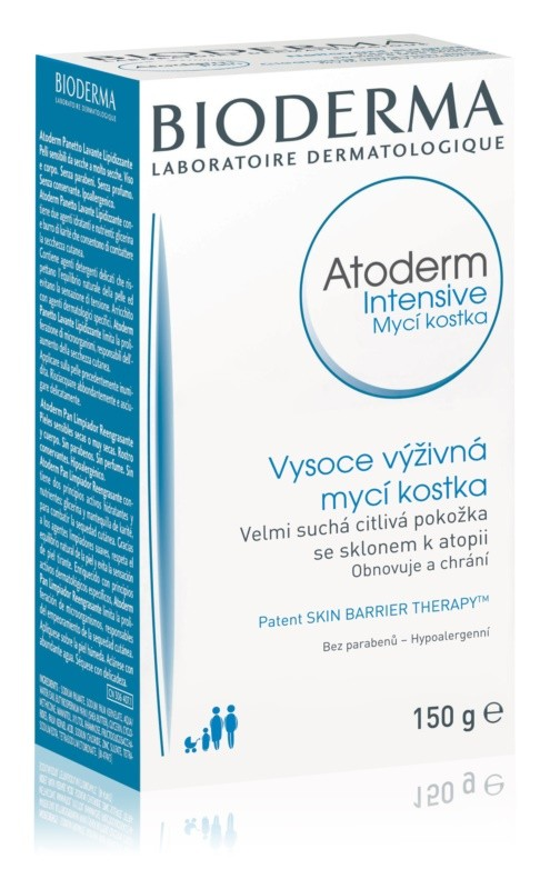 Bioderma Atoderm Intensive Mycí kostka 150 g