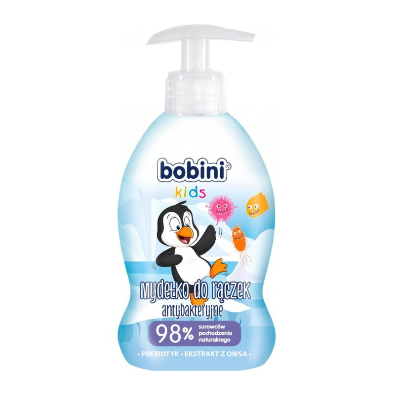 Bobini dětské tekuté mýdlo s pumpičkou, 300 ml