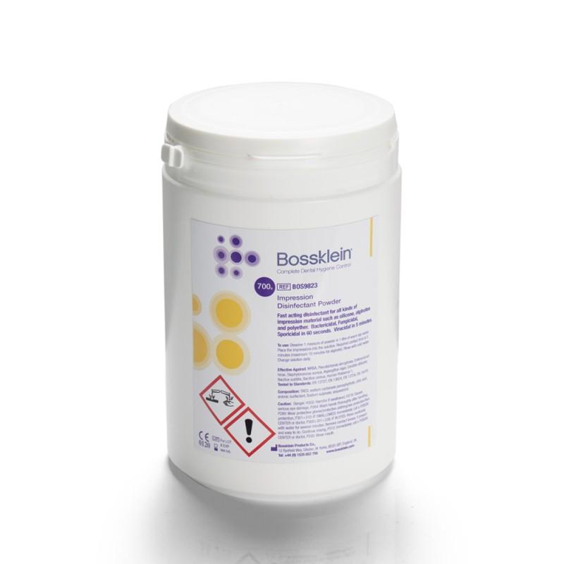 Bossklein dezinfekčný prášok na odtlačkové hmoty 700 g