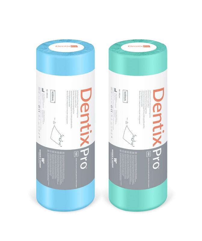 Bryndáky DentixPro Normal PVC v roli 56 x 80 cm, 100 ks