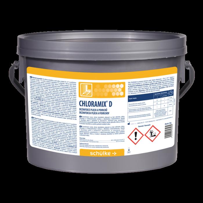 Chloramix D 2 kg vědro