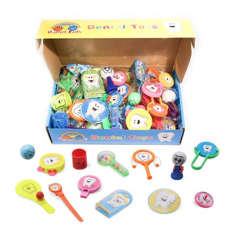 Dental Toys - mix hraček, 52 ks v balení