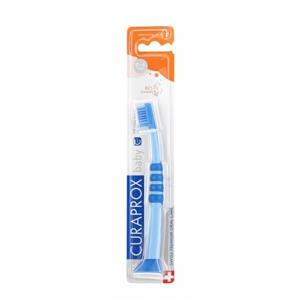 Dětský zubní kartáček Curaprox BABY, 0-4 roky, 1 ks v blistru