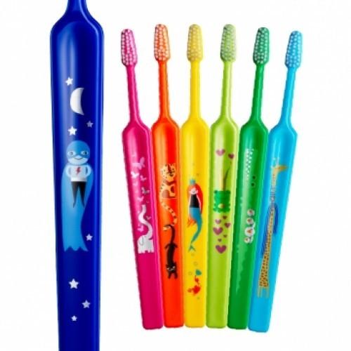 Dětský zubní kartáček TePe Kids Soft, v blistru, od 3 let