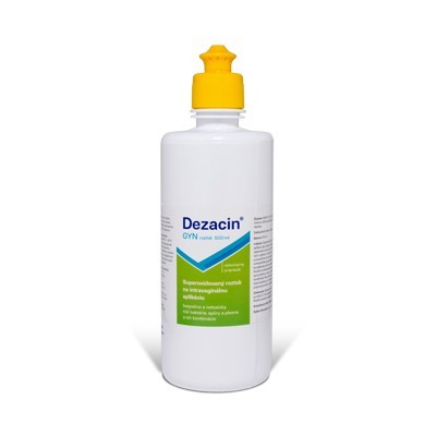 DEZACIN 500 ml roztok push-pull