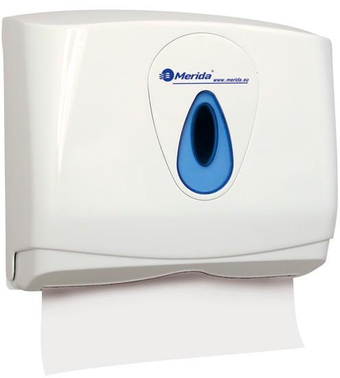 DOPRODEJ Zásobník na jednotlivé Z-Z papírové ručníky Merida Top Mini