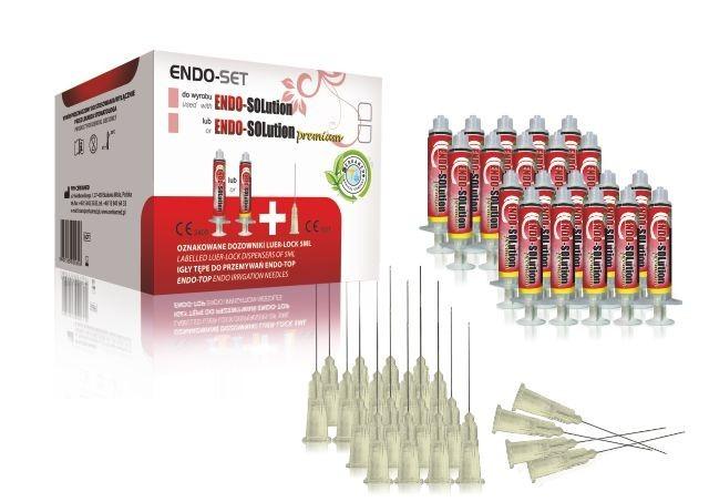 Endo-Set pro Endo-Solution 20 x 5 ml, 20 ks výplachových jehel