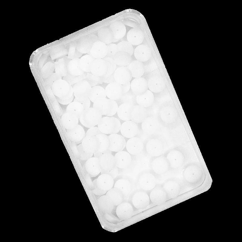 Endostop 100 ks, biele
