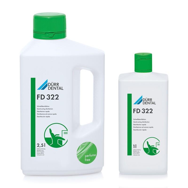 FD 322 dezinfekcia na plochy, povrchy prístrojov