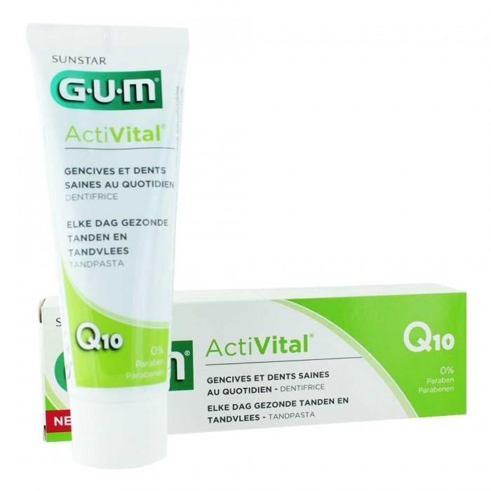 GUM ActiVital zubní pasta, 75 ml