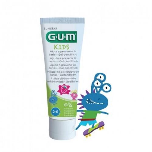 GUM Junior zubní gel pro školáky (7-12 let), 50 ml