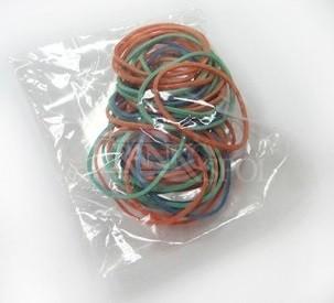 Gumičky 30 mm, mix barev, 30 ks