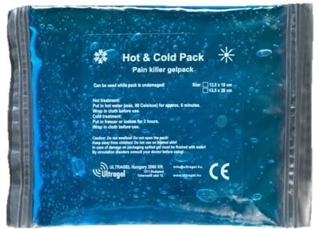 HOT&COLD chladící/ohřívací gelový obklad 13,5 x 18 cm, 2 ks