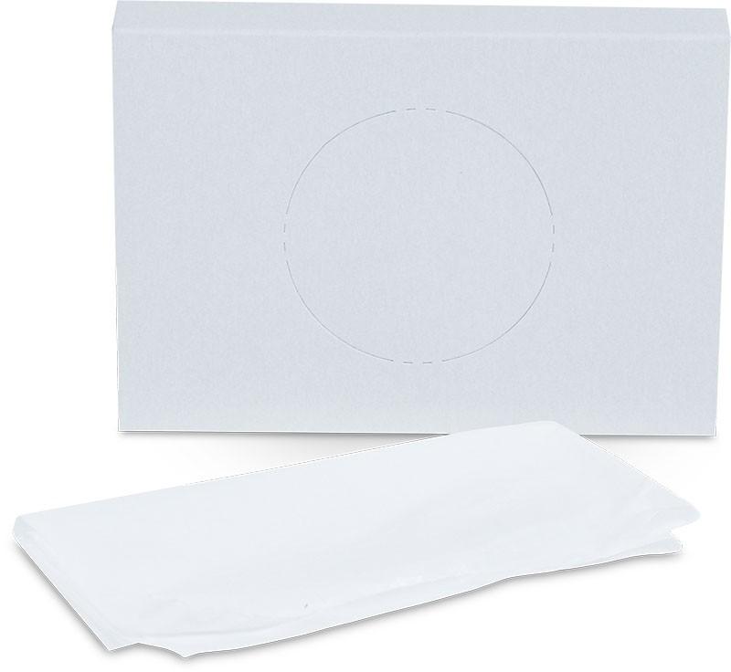 Hygienické vrecká biele, 25 ks
