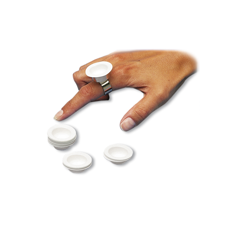 Jednorázové mističky Dapp-a-Way, 1000 ks + kroužek na prst