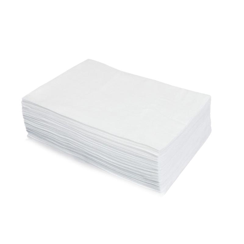 Jednorázové utěrky Bio Eco z netkané textilie, 70 x 40 cm, bílé, 50 ks