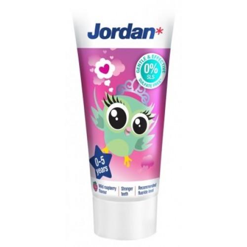 Jordan Kids zubná pasta, 0 - 5 rokov, 50 ml