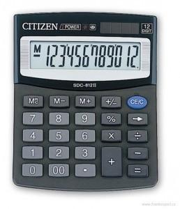 Kalkulačka Citizen SDC-812BN