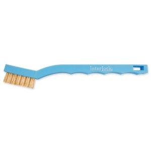 Kartáč pro zátěžové čištění 180/40/15 mm, modrý