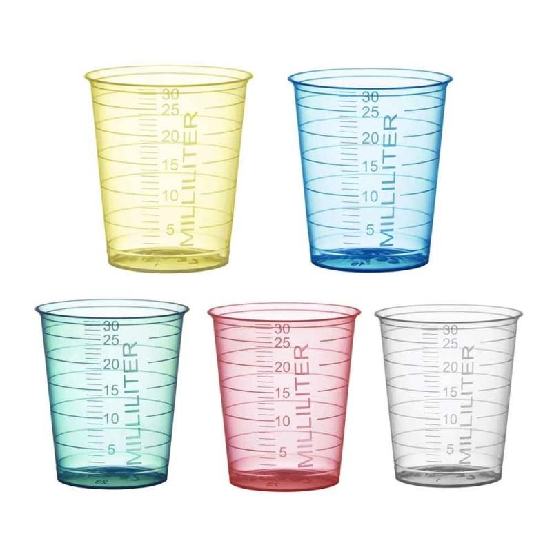 Kelímek odměrný Med-Comfort Basic 30 ml, 80 ks