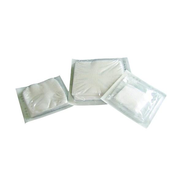 Kompresy z gázy sterilní 17/8vr. 5 x 5 cm/ 25 x 5 ks