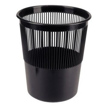 Kôš odpadkový, plastový, dierovaný