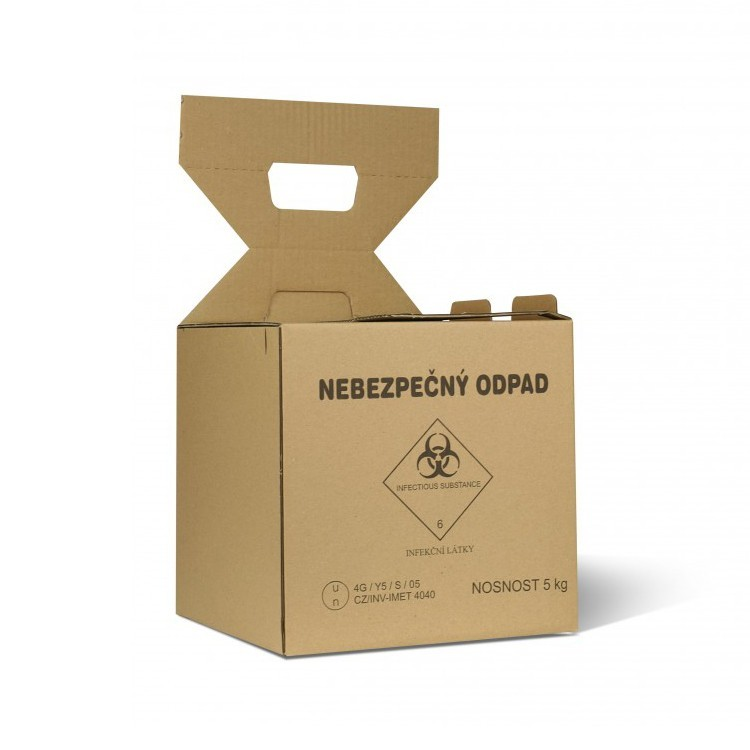 Krabica na nebezpečný odpad 1,6 kg