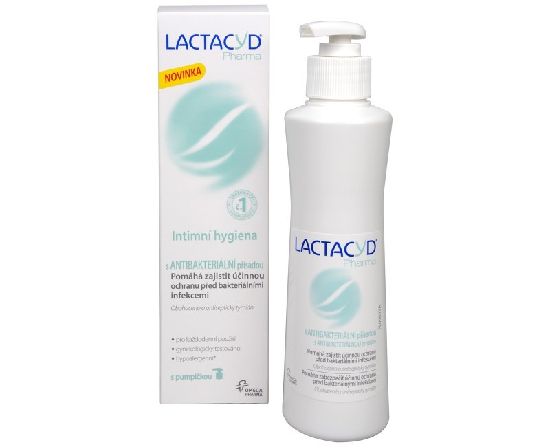 Lactacyd Pharma Antibakteriálny, krém na intímnu hygienu, 250 ml