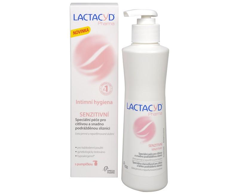 Lactacyd Pharma Senzitívny, krém na intímnu hygienu, 250 ml