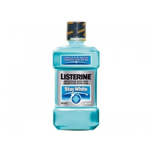 Listerine Stay White ústna voda, 500 ml