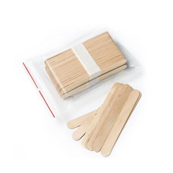 Lopatky ústne drevené, 100 ks
