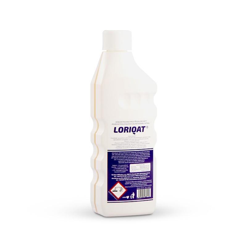 Loriqat 500g fľaša, odstraňovač zaschnutej dezinfekcie