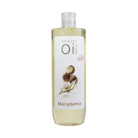 Macadamioný, telový olej Emspoma 500 ml