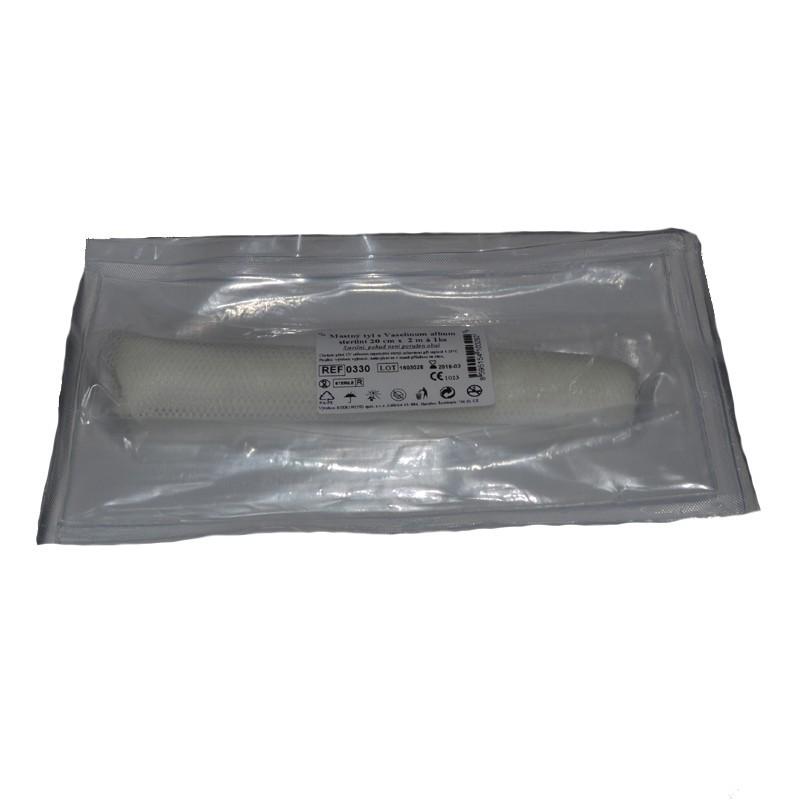 Mastný tyl, sterilný 20 cm x 2 m / 1 ks