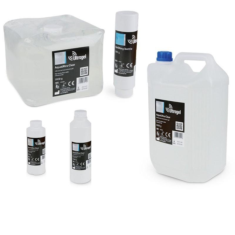 Medgel AquaUltra Clear Ultragel ultrazvukový gel