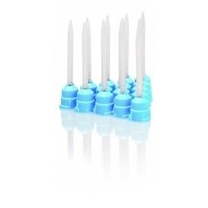 Miešacie kanyly svetlo modré, 48 ks