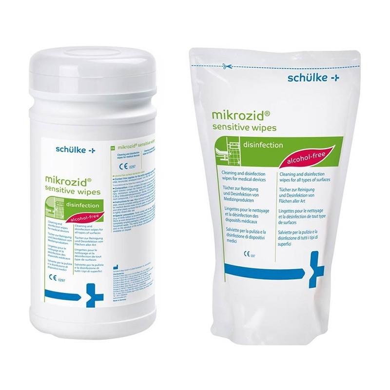 Mikrozid Sensitive Jumbo wipes utierky, 200 ks