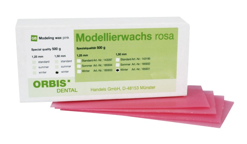 Modelovací vosk standard Orbis, 500 g