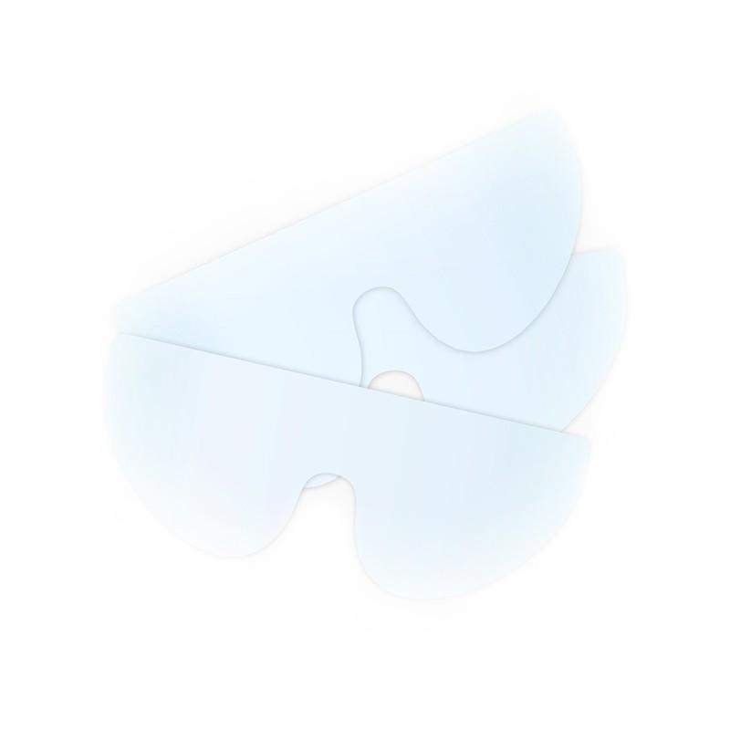 Náhradné ochranné štíty pre ochranné okuliare pre pacienta, 8 ks