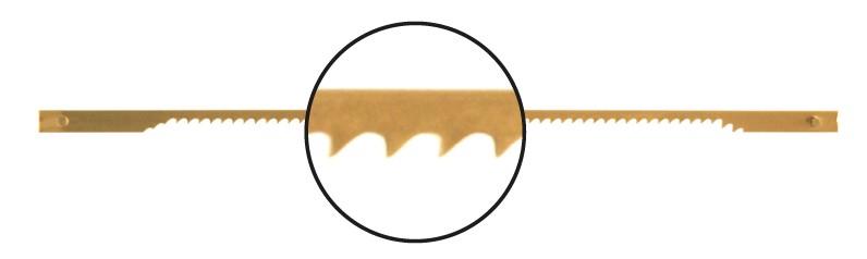 Náhradní čepel do protetické pilky 10 cm