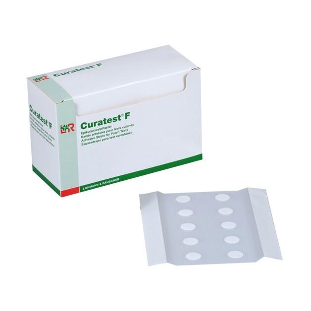 Náplasť Curatest F transparentná testovacia alergologická  7,5 x 12,5cm, 50ks v bal.