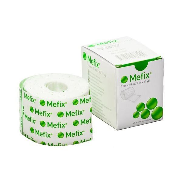 Náplast fixační Mefix 5 cm x 10 m elastická, netkaný textil