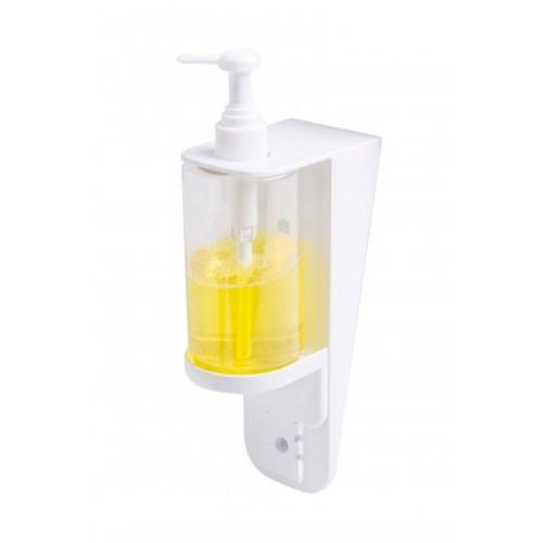 Nástenný dávkovač dezinfekcie rúk ECO, 300 ml