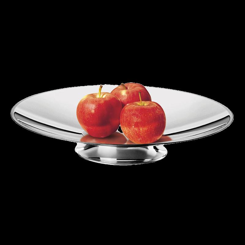 Nerezová misa na ovocie, priemer 32 cm