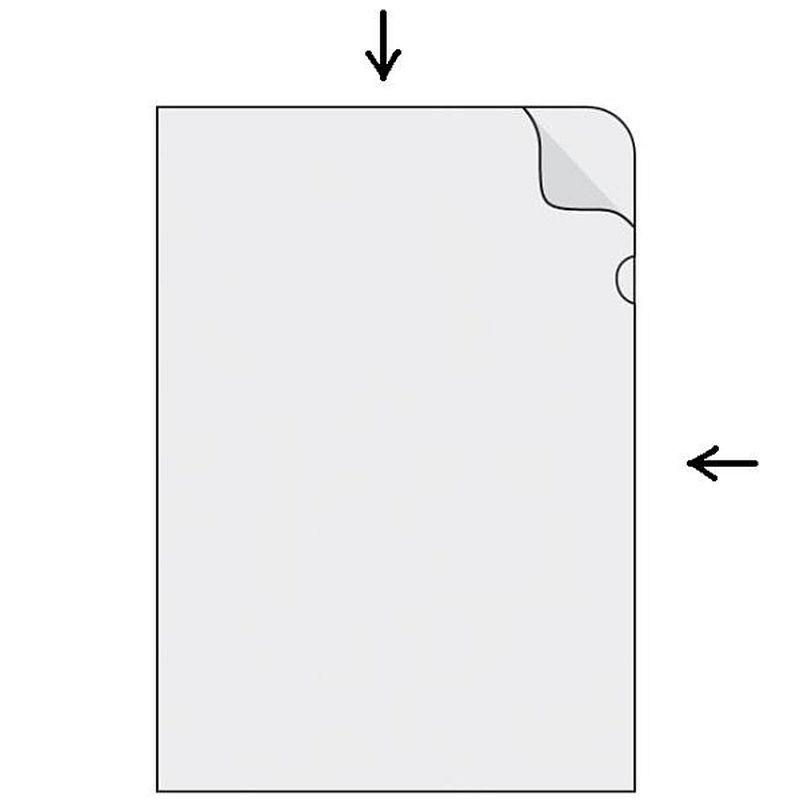 Obal zakladací A4, číry PVC 150 mic