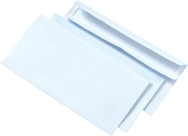 Obálka DL samolepící, 110 x 220 mm, 50 ks