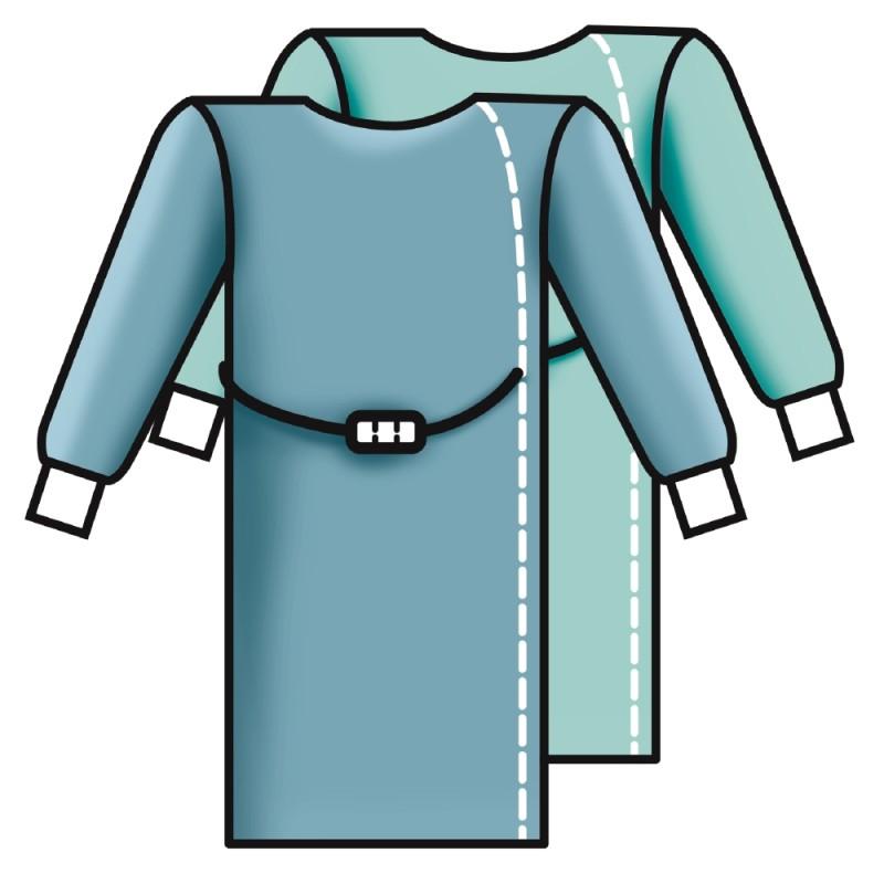 """Operačný zavinovací plášť Sentinex® Standard """"Direkt, sterilný"""